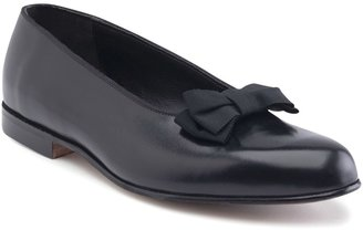 Brooks Brothers Calfskin Formal Bow Pumps