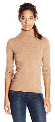 Sofie Women's 100% Cashmere Classic Turtleneck Pullover Sweater