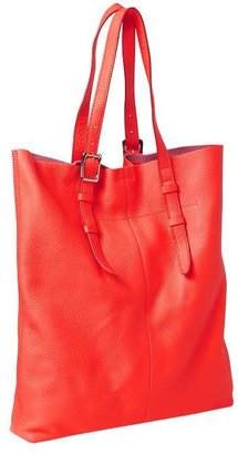 Gap Flat leather tote
