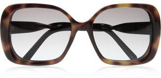 Balenciaga Square-frame acetate sunglasses