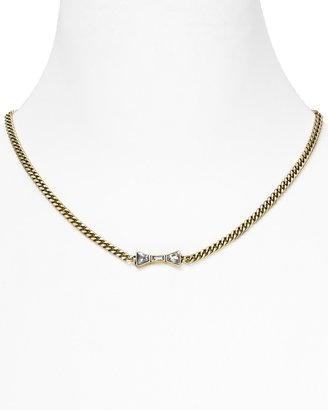 """Marc by Marc Jacobs Tiny ID Necklace, 16"""""""