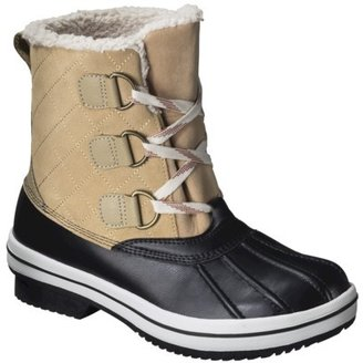 Merona Women's Nancy Snow Boots - Natural