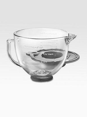KitchenAid 5-Quart Glass Handled Bowl