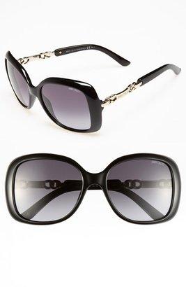 Jimmy Choo 'Wiley' 56mm Sunglasses
