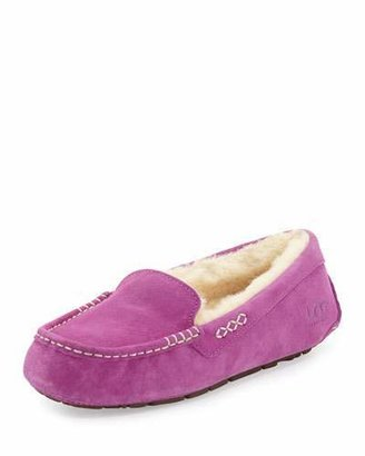 UGG Ansley Moccasin Slipper, Cactus Flower $100 thestylecure.com