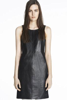 J Brand Lena Leather Dress