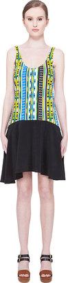 Thakoon Addition Striped Tank Dress