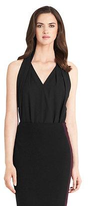Diane von Furstenberg Reagan Sleeveless Top In Black