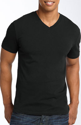 Men's The Rail Slim Fit V-Neck T-Shirt $22 thestylecure.com