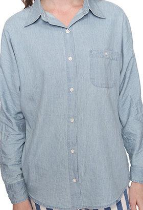 Forever 21 Stonewash Denim Shirt