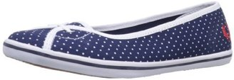 Fred Perry Women's Jet Polka Dot Print Slip-On
