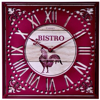 Chaney 12-in. rooster bistro wall clock