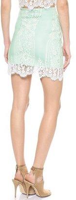 For Love & Lemons Wild Flower Lace Skirt