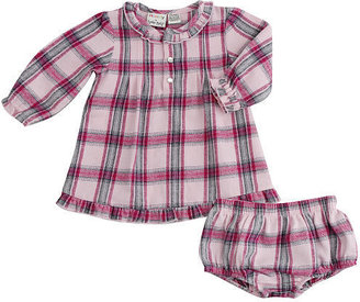 Babies 'R' Us Babies R Us Cynthia Rowley Pretty in Plaid Dress Set with Panty - Pink Plaid (12 Months)
