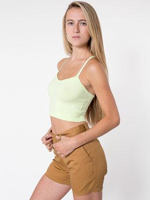American Apparel Unisex Cotton Twill Welt Pocket Short