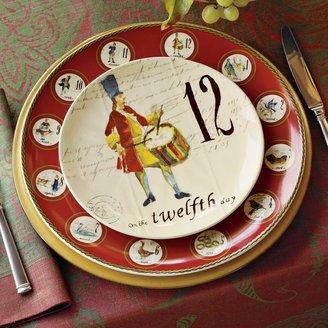 Williams-Sonoma 12 Days of Christmas Salad/Dessert Plates, Set of 12