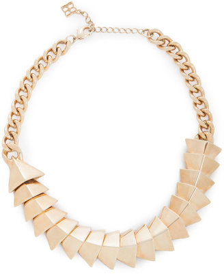 BCBGMAXAZRIA Chevron-Plate Necklace