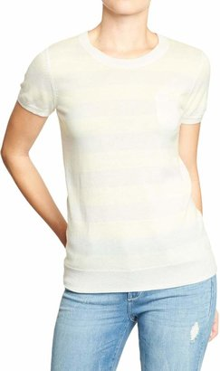 Old Navy Women's Short-Sleeve Pocket Sweaters