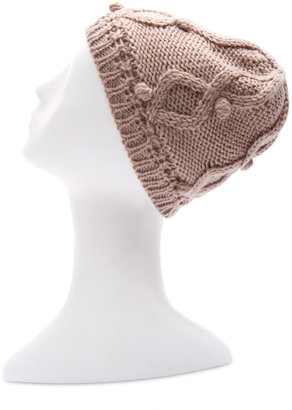 MANGO TOUCH - Knitted wool hat