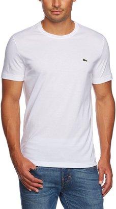 Lacoste Men's Crew Neck Plain Short Sleeve T-Shirt