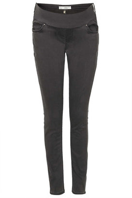 Topshop Maternity moto grey leigh jeans