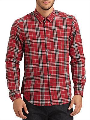 Rogan Plaid Shirt/Trim-Fit