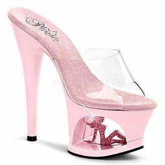 Pleaser USA Women's Moon-701TG Platform Sandal