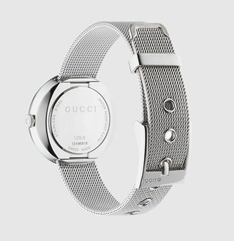 Gucci Small U-Play Mesh Stainless Steel Strap