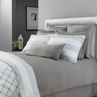 Bed Bath & Beyond Downtown Company Urban Quilted Cotton Coverlet Set in Quarry Gray