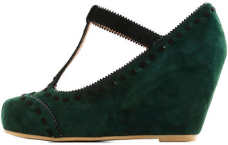 Jeffrey Campbell Hopes and Seams Wedge