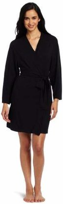 Casual Moments Women's 36-Inch Wrap Robe