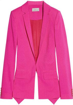 Preen Hutchinson cutout wool-blend blazer