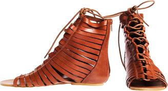 N.Y.L.A. Leesa Gladiator Sandal Tan