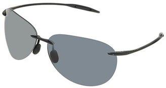 Maui Jim Sugar Beach (Gloss Black/Netural Grey Lens) Sport Sunglasses