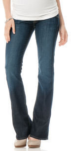 A Pea in the Pod Hudson Secret Fit Belly. 5 Pocket Boot Cut Maternity Jeans
