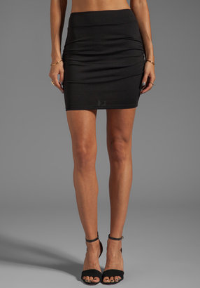 Susana Monaco Light Supplex Rouched Skirt 18""