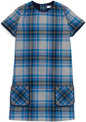 Brooks Brothers Wool Plaid Dress