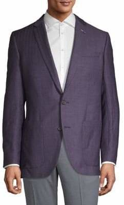 Ted Baker No Ordinary Joe Wool-Linen Blend Sports Jacket