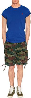 Ralph Lauren Blue Label Pacific Royal Cotton T-Shirt