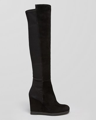 Stuart Weitzman Wedge Boots - Demiswoon 5050