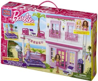 Mega Bloks Barbie Build 'n Style Beach House