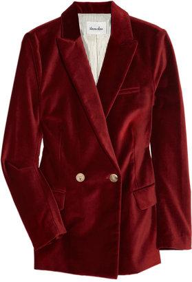 Steven Alan Annette velvet jacket