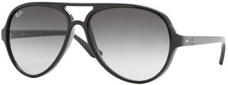 Ray-Ban CATS 5000 Sunglasses, RB4125 59 $165 thestylecure.com