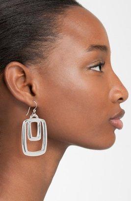 Simon Sebbag Rectangle Drop Earrings