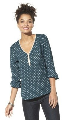 Xhilaration Juniors Braided Detail Top - Assorted Colors