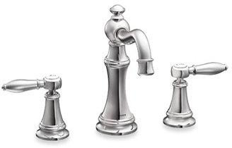 Moen Weymouth 2-Handle 9-Inch Widespread Faucet