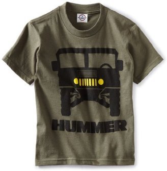 Hummer Genuine Gm Kids Boys 8-20 Stacked Logo T-Shirt
