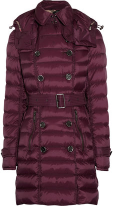 Burberry Hooded padded shell coat