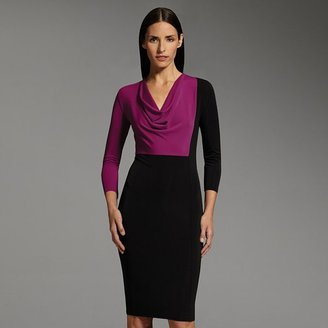 Narciso Rodriguez for designation colorblock sheath dress