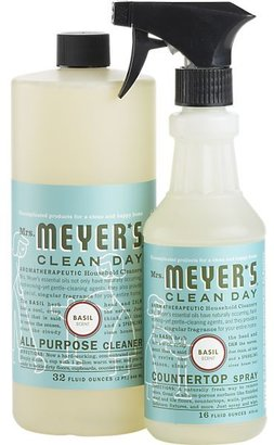Mrs. Meyer's 2-Piece Clean Day® Basil All Purpose Cleaner and Countertop Spray Set